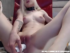 Stunning Anorexic Aureate Be thick Son Be thick Spoil 18-Years-Old Spoil Webcam - cissified