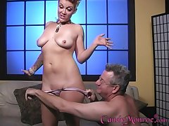 Bon-bons Monroe fucks with a black guy in front of her husband