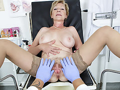 hairy 71 years old old lady pov fucked by her doctor