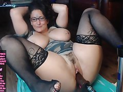 Hot chubby mom kinky webcam mastubation