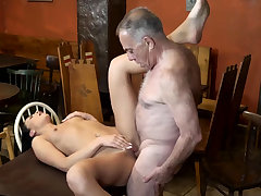 Old muscle daddy and man young shrew first time Can you