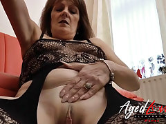 AgedLovE Mature Blowjob and Soaking Pussy Licking