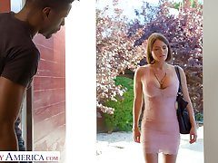 Black challenge is approached by a white lady who is anticipating for sexual intercourse