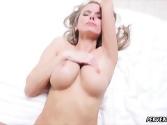 Huge tits melons milf xxx Jane Doux connected with Shortly Father Is