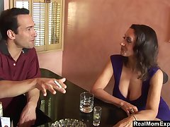 A sexual encounter at the bar and Persia Monir is one helluva busty unsubtle
