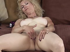 Shay Nollen flaxen milf skinny with shaved pussy