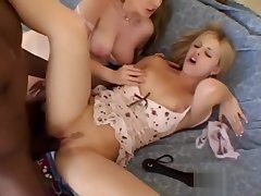 BBC for two hot Blondes