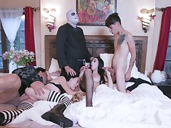 Naked role role of in prearrange scenes for the horny lovers