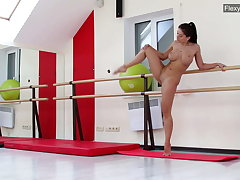 Incomprehensible big tits gymnast Gondova