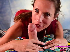 SofieMarieXXX - MILF Sofie Marie Tucks In Young Cock Near BJ