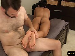Stacked Black Haired Lady Latina US Mom With
