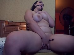 Russian BBW Webcam Model Masturbate and Gets Fixed Orgasm