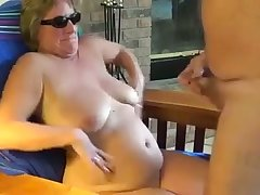 This cheeky mature floozy loves company me cum down her circles around upstairs