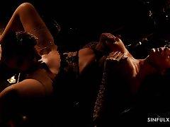 Hot Brighten milf Ania Kinski is making love in the dim orientation