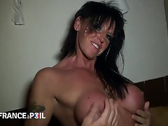 Huge Titted Milf Hard Nailed With respect to Pov