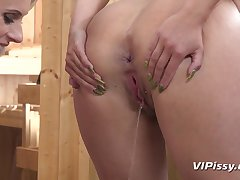 Angel Wicky, Brittany Bardot - Faggot Pee Fetish