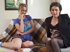 Relaxed day cuckold his extreme wild home made lesbian