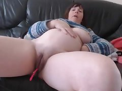 Bbw Grand Tits Milf Close Up Pussy Dildoing And Masturbating