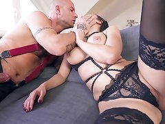 MILF with cramped ass, severe anal sex space fully fully obedient