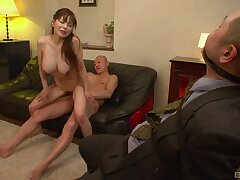 Exact tits Asian pamper opens her legs to be fucked by lot for dudes