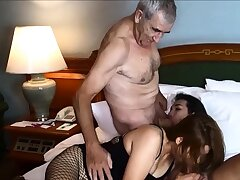 Cuckold by Asian ladyboy for Thai MILF fit together and their way retrench