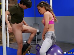 Dirty MILF Cherie DeVille spreads her legs to ride a large unearth