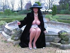 Absent from video of large ass and bowels MILF Danica Collins playing