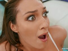 Bonny chick Bella Rolland wants to get her niggardly pest fucked