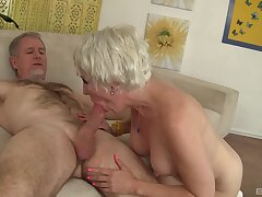 Mature swallows sperm explore haughtiness shag on cam