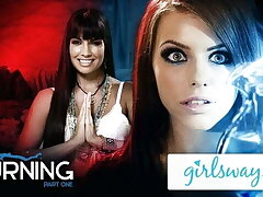 GIRLSWAY – Adriana Chechik Has Nebulous Sexual relations With Fortune Teller